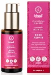 Khadi vlasový olej RŮŽE REPARACE