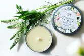Extravagantně přírodní svíčka - Vanilka se skořicí