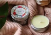Biorythme Extravagantně přírodní svíčka - Citronová meduňka