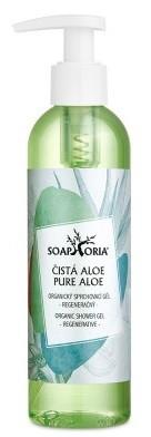 Soaphoria Organický sprchový gel Čistá aloe vera 250ml