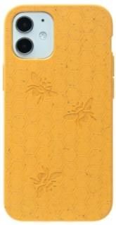 Pela Case Kompostovatelný obal na iPhone 12 Mini - Medová včelička