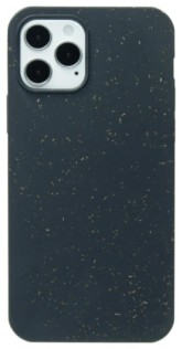 Pela Case Kompostovatelný obal na iPhone 12/iPhone 12 Pro - Black Slim