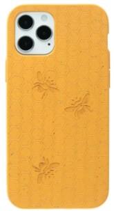 Pela Case Kompostovatelný obal na iPhone 12 / 12 Pro - Medová včelička PELA CASE