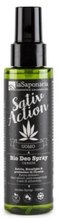 laSaponaria Pánský deodorant ve spreji s konopím BIO