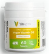 Vegetology VitaShine Vitamin D3 1000 IU