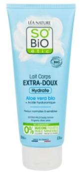 SO'BiO étic  Mléko tělové extra hydratační s aloe vera a hyaluronem