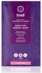 Khadi práškový šampón Mytí rostlinami - sensitive