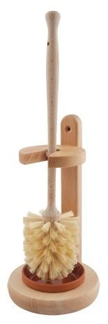 Redecker WC stojan s dřevěnou štětkou