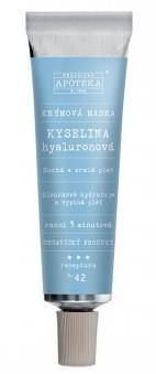 Havlíkova přírodní apotéka Krémová maska Kyselina hyaluronová (receptura č.42)