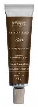 Havlíkova přírodní apotéka Krémová maska Káva (receptura č.67)