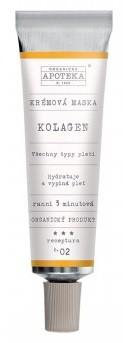 Havlíkova přírodní apotéka Krémová maska Kolagen