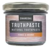 TRUTHPASTE Charcoal přírodní minerální zubní pasta s aktivním uhlím - fenykl a pomeranč