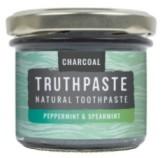 TRUTHPASTE Charcoal přírodní minerální zubní pasta s aktivním uhlím - máta