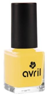 Avril Organic Lak na nehty Jaune Curry n°680 7 ml