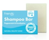 Friendly Soap přírodní mýdlo na vlasy máta a eukalyptus