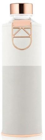 EQUA Skleněná lahev z borosilikátového skla MISMATCH SAGE