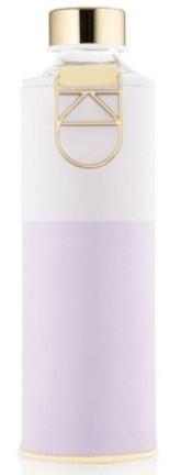 EQUA Skleněná lahev z borosilikátového skla MISMATCH LILA