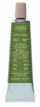 Havlíkova přírodní apotéka CBD pleťová maska