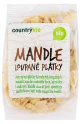 Mandle loupané plátky 100 g BIO COUNTRY LIFE