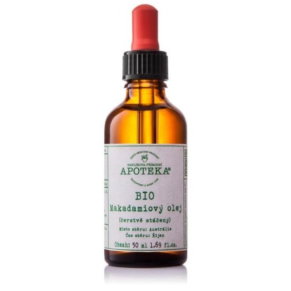 Havlíkova přírodní apotéka BIO Makadamiový olej (30 ml)