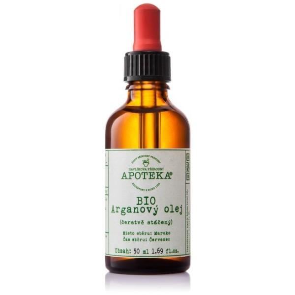 Havlíkova přírodní apotéka BIO Arganový olej (30 ml)