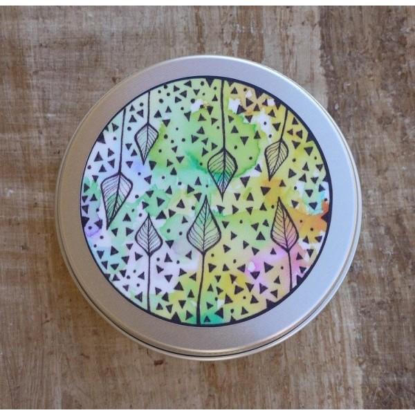 Ponio Přenoska - plechovka hliníková nižší - pestrobarevné listy
