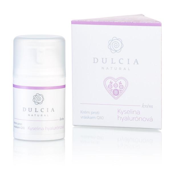 Dulcia natural Krém proti vráskám s kyselinou hyaluronovou a Q10 50 ml
