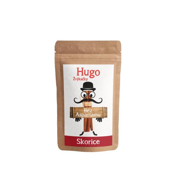 Hugo Žvýkačky Skořice velké balení