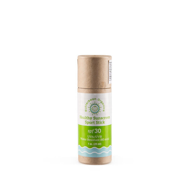 Butterbean Organics Sport SPF 30, BIO ochranná tyčinka na opalování