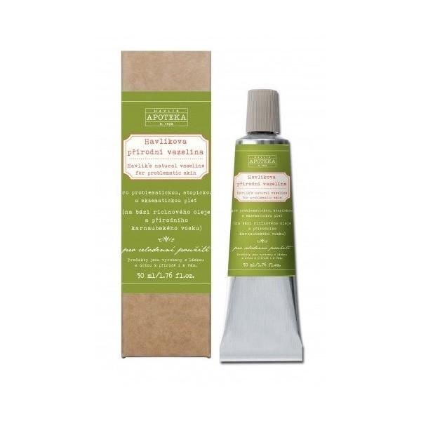 Havlíkova přírodní apotéka Havlíkova přírodní vazelína (50 ml)