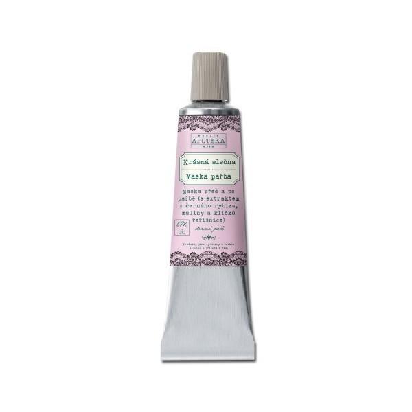 Havlíkova přírodní apotéka Krásná slečna, maska pařba (30 ml)