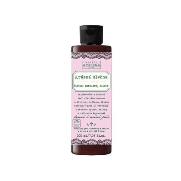 Havlíkova přírodní apotéka Krásná slečna, čistící 1minutový elixír (200 ml)