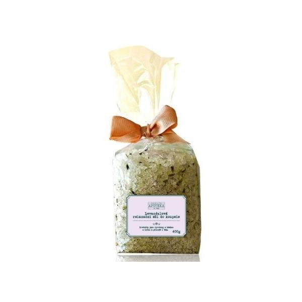 Havlíkova přírodní apotéka Levandulová relaxační sůl do koupele (400 g)