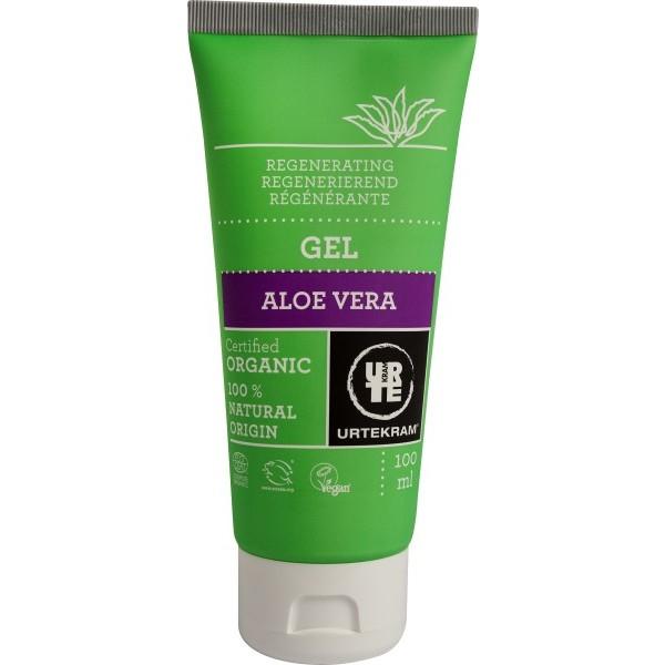 Urtekram Regenerační tělový a pleťový gel s aloe vera BIO 100 ml