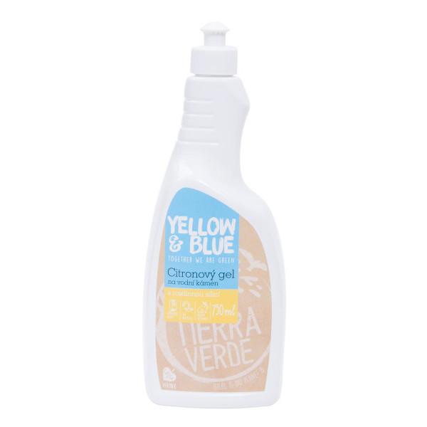 Yellow&Blue Citronový gel na vodní kámen (750 ml)