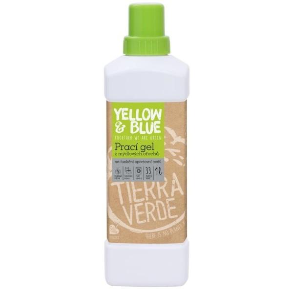 Yellow&Blue Prací gel na funkční textil s koloidním stříbrem (1 l)