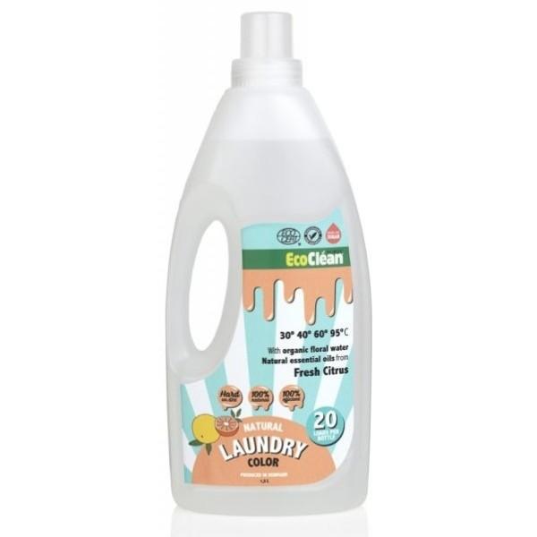 Eco Clean Tekutý prací prostředek s vůní Svěží citrus 1,5 l