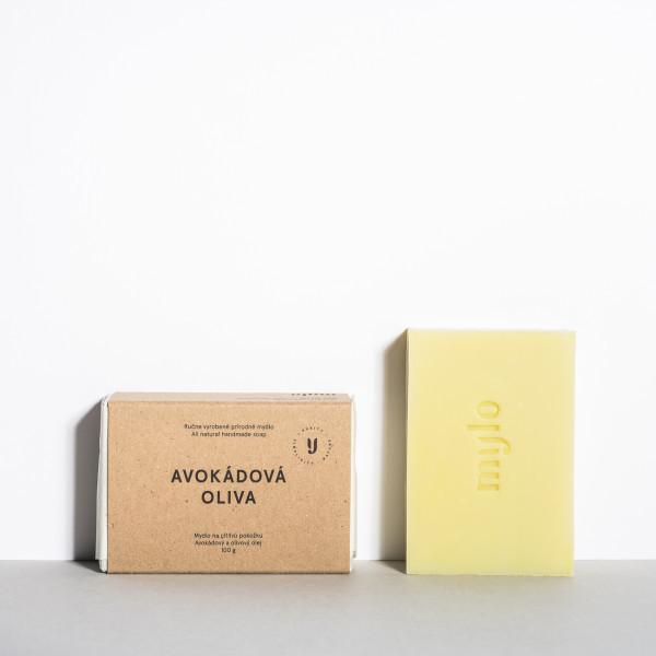Mylo Avokádová oliva, výživné přírodní mýdlo na citlivou pleť 100 g