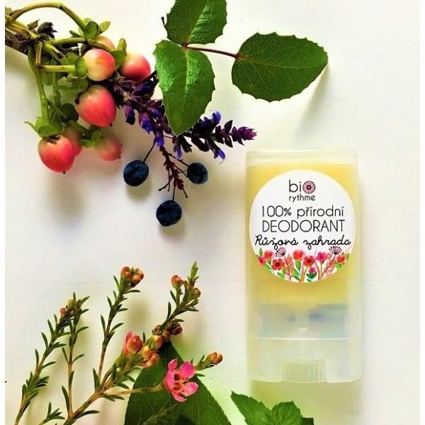 Biorythme 100% přírodní deodorant Růžová zahrada
