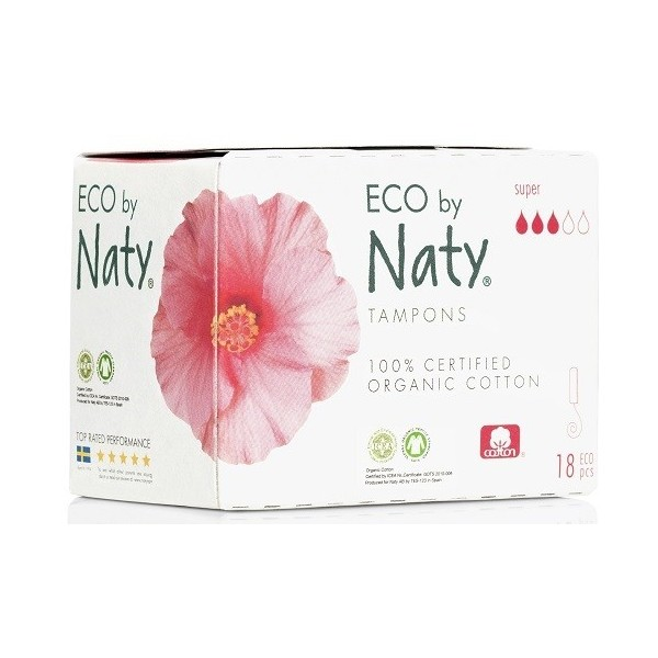 Naty ECO tampóny - super