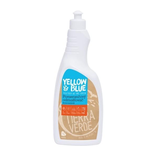 Yellow&Blue Pomerančový odmašťovač – koncentrát (750 ml)