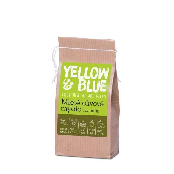 Yellow&Blue Mleté olivové mýdlo na praní (200g)