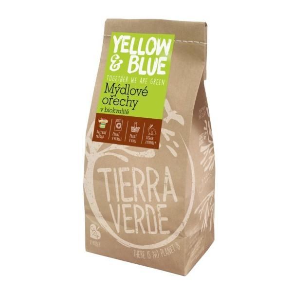 Yellow&Blue Mýdlové ořechy na praní, sáček (1 kg)