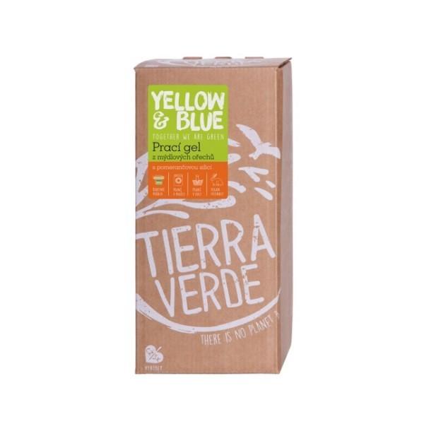 Tierra Verde Prací gel pomeranč (bag-in-box 2l)