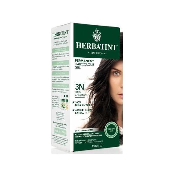 HERBATINT permanentní barva na vlasy Tmavý kaštan 3N