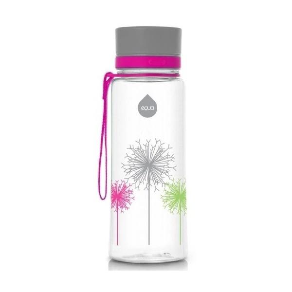 EQUA Plastová lahev na pití pro děti Illusion collection - Dandelion bez BPA 600 ml