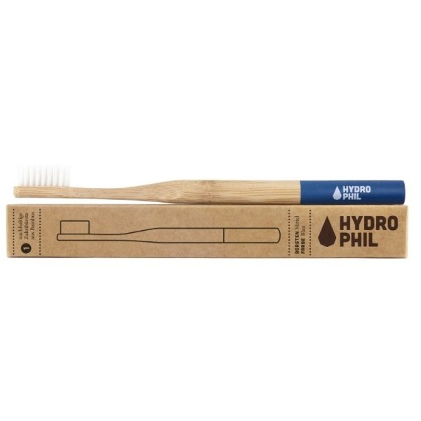 Hydrophil Bambusový kartáček (soft) modrý