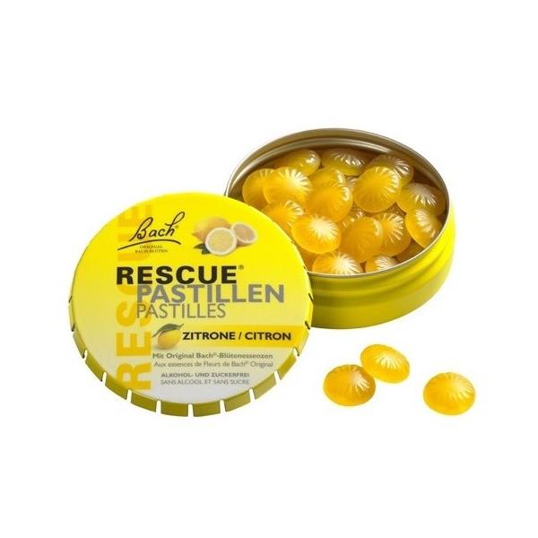 Dr. Bach Rescue® pastilky citron 50g
