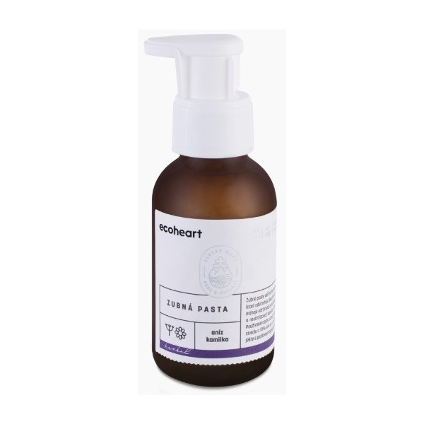 Ecoheart Zubní pasta s anýzem a slaměnkou Herbal