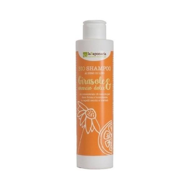laSaponaria Šampon se slunečnicí a sladkým pomerančem BIO 200 ml